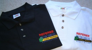 EC referee shirts come in Black and White